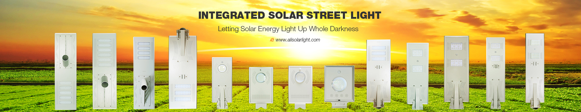 Al-CH Series All In One Solar Street Light