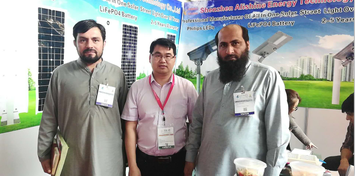 Our company attends trade show-Solar Pakistan 2019