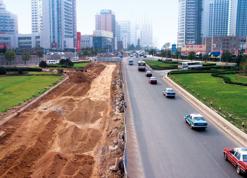 Why should roads be built first where the economy is backward?