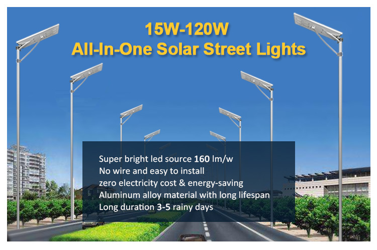 Factory Price 120W High Power Outdoor Led Street Lighting Fixtures