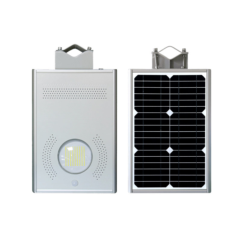 12w All In One Solar Street Light High Efficiency Led Chip Environment Friendly Solar Led Lamps Manufacturer