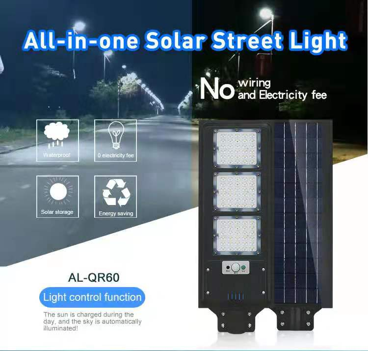 Street vintage Outdoor  Leds Bulb Solar Lamp post light lawn