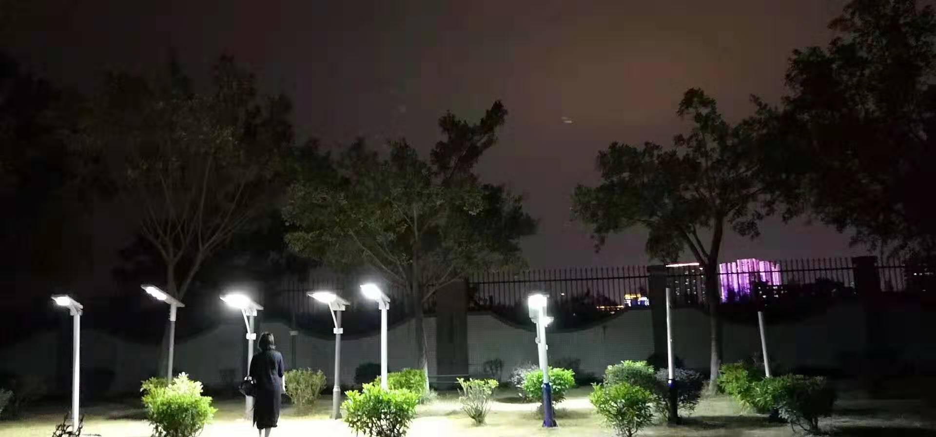 What are the advantages of all in one  solar LED street lights