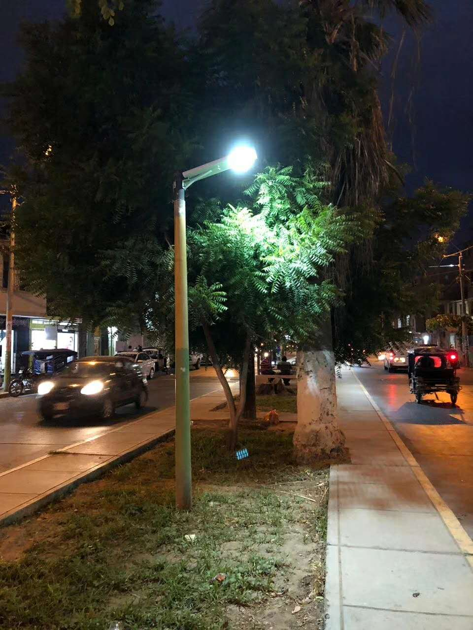 What is All in one solar led street light