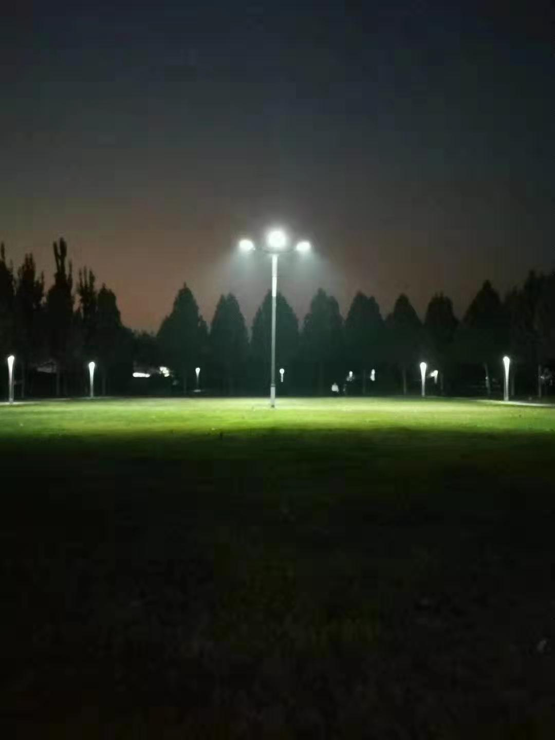 The Lighting Range and illuminance for Solar Street Lights